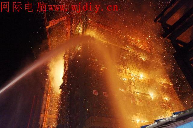 广西一栋18层高楼失火,不知死了多少人?