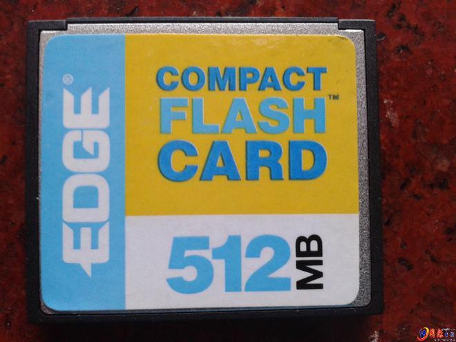 怎么读取compact flash card卡内的资料