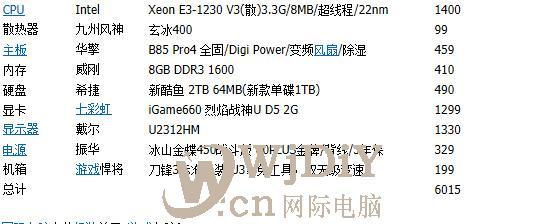 一般3D美工配什么CPU,主板,显卡的电脑比较好