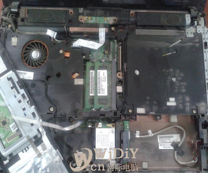 维修惠普hp4411笔记本开不了机
