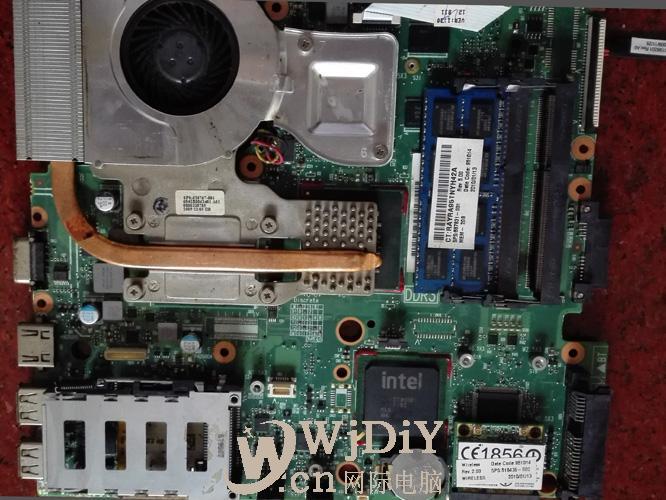 HP笔记本电脑4411s加不上电维修