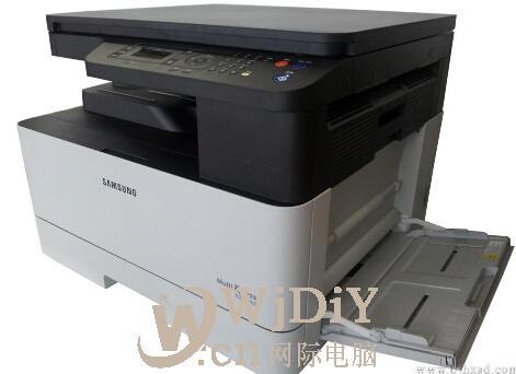 三星打印机K2200提示少纸 打印纸张出错,怎么办