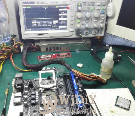 电脑指示灯闪一下;电脑风扇动一下开不了机