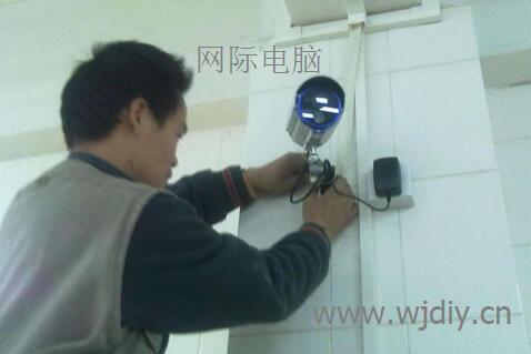 龙华民治科技园办公区域无线监控安装