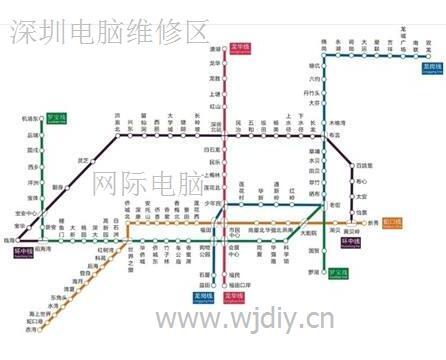 深圳电脑维修上门网络维修服务区域点