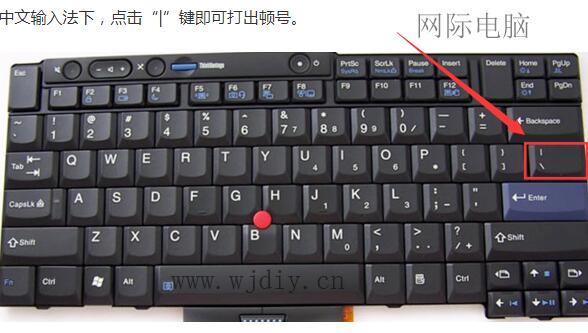 顿号在键盘上怎么打_电脑键盘上顿号怎么打
