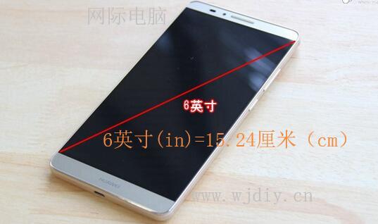 手机屏6英寸是多少厘米,6英寸手机是多少厘米