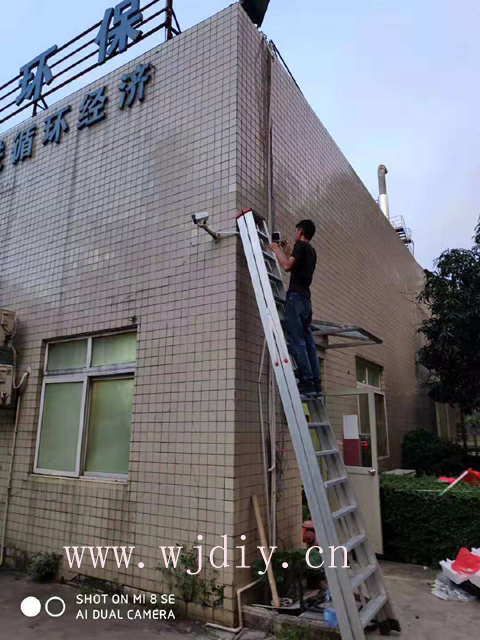 深圳清水河垃圾填埋场网络监控安装