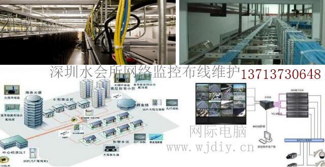 深圳龙华区东明大厦办公网络监控安装布线公司