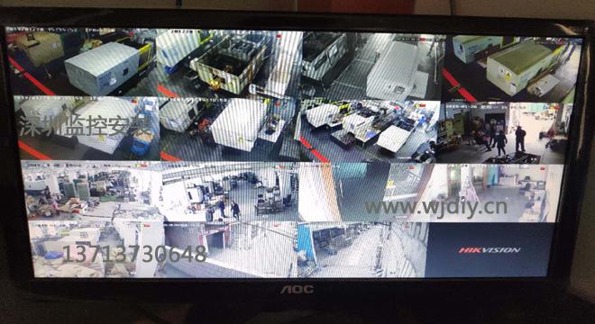 深圳市科伦特工业园内工厂公司网络监控安装门禁搬迁