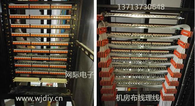 深圳公司企业机房布线理线-深圳机房弱电系统集成商