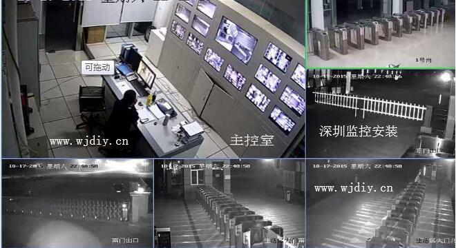 深圳观湖监控安装,福城安装监控系统,观澜视频监控安装