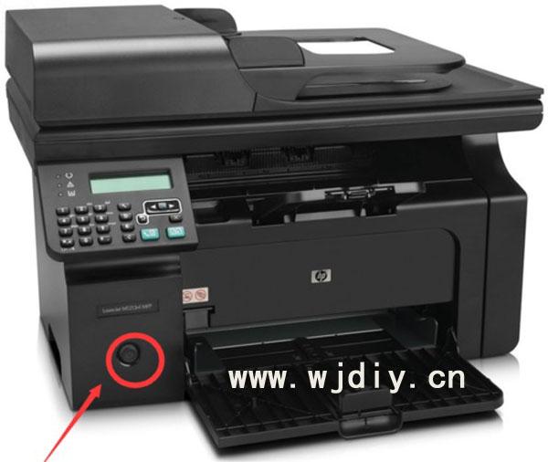 惠普HP1213打印机总复位步骤解决一直显示正在初始化