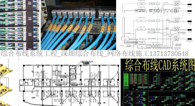 综合布线工程设计及综合布线工程系统图制作要求