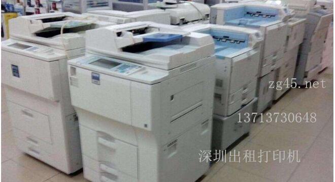 深圳南山区科兴科学园出租打印机-出租复印机